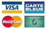 Credit Cards Are Welcome / Visa Amex Mastercard